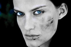 ANGRY BLUE EYES by Aitor-michel