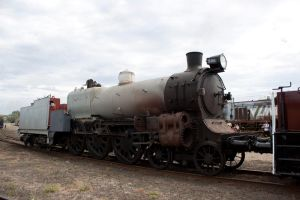 Grey Steam Train Stock by CNStock