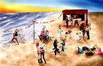 Club-dessinateurs' Summer contest entry by TheLast-Rebel