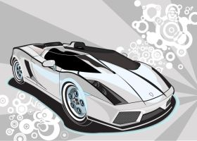 Lamborghini Car Vector by DaseinBlackzAngelTan