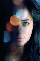 Des - Portrait with Bokeh by f-f-w-d