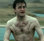 Harry's Chest Tattoo by Richard67915