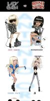 Lady Gaga VS Britney by AOZcouture