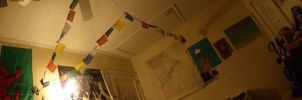 Panorama of my bedroom by Zachary-Ryals