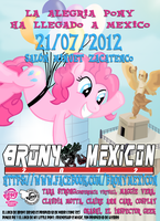 BRONYMEXICON POSTER by Toon-Orochi