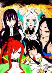 Ultimate Mages of Fairy Tail by AbnusiLaw07