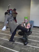 guile and Q by dante-is-god