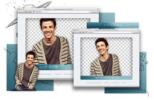 Pack Png 908 // Grant Gustin by ExoticPngs