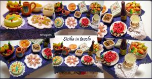 Sicilian Table by miniacquoline