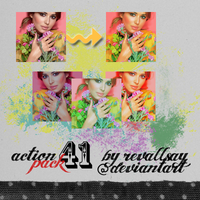 Actions 41 PACK by revallsay