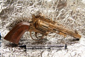 Six Shooter in Bronze by JohnsonArms