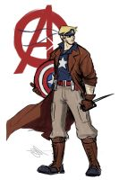 The First Avenger by Skyserpent