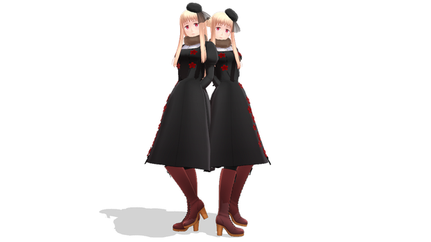 [MMD MODEL EDIT] 2p!Nyo!Russia by VanessaKnight