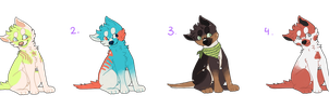 puppy adopts!! prices lowered!! by marmaIade