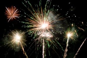 Christmas Pageant Fireworks by Tiberius47