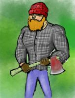 The Lumberjack by Thebodypopper
