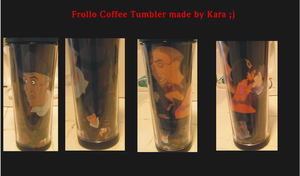 Frollo Coffee Tumbler by ChristineFrollophile