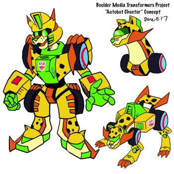 Unspecified Transformers Concept: Autobot Cheetor by BlueIke