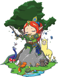 0557: Forest Song with Nature Friends by Agito666