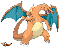 Charizard by Xous54