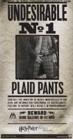 Most Undesirable: Plaid Pants by Skabie