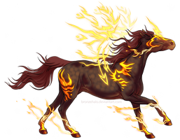 Firehorse, want him? by BronzeHalo