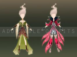 (Closed) Costumes design adoptables - Auction 5 by fantazyme