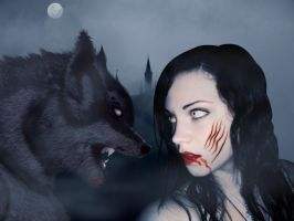 werewolf and Vampire by countrygirl16mj