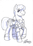 Silver in Galauniform (JJ) by TheSilverMane