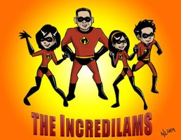 The IncrediLams - color by taneel