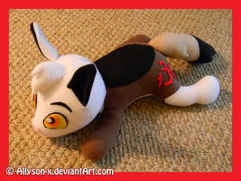 Hek OC Plush Commission by Allyson-x