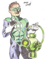 The Green Lantern by Rockinangelz99