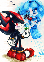 Roses are Black, Violets are Blue by no1shadow