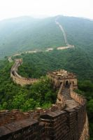 The Great Wall of China by Janina-Photography