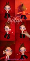 chibi Johnny Christ plush version by Momoiro-Botan