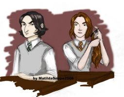 Sev-Lily - PotionsNEWT class by matisnape