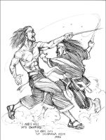SILAT - I MUST KILL YOU BROTHER! by GAYOUR