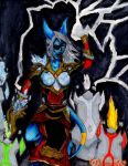 Ernua Enhancement Shaman by Destiny-Kaspar