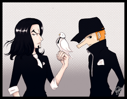 Lucci and Kaku by Frog-of-Rock