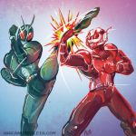 Bug Man Battle by rockmanzallz