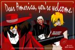 Hellsing kills Trump Panel 4 by Rouge-Fox