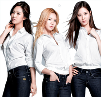 Yuri , Hyoyeon And Seohyun G-Star Raw ~PNG~ by JaslynKpopPngs