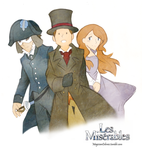Les Miserables Laytonesque by MagicianCelemis