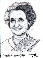 Indra Gandhi by turpitude