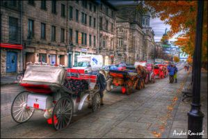 Old Montreal 3 HDR by bellocqa