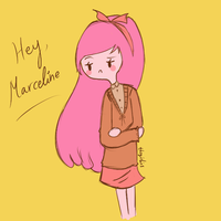 Hey Marceline by Thegirlins