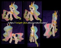 Princess Celestia 23 inches tall by MLPT-fan