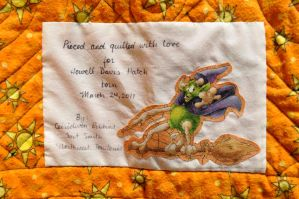Howell's Quilt Label Detail by ladyiolanthe