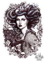MEDUSA IMPERATRIX MUNDI by Medusa-Dollmaker