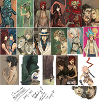 iScribble ART DUMP: '09-11 by zuqling